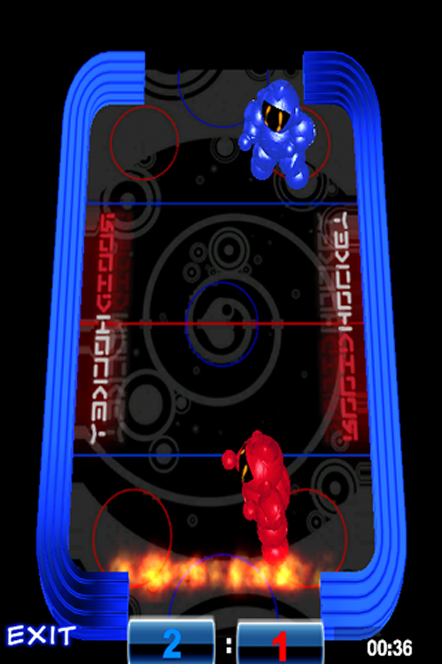 Screenshot Robo Air Hockey FREE